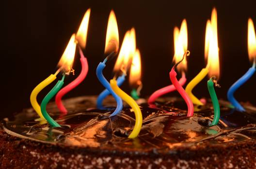 Close-up of Burning Candles #66146