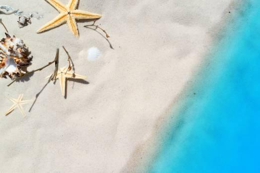 Tilt Image of Sand at Beach #66418