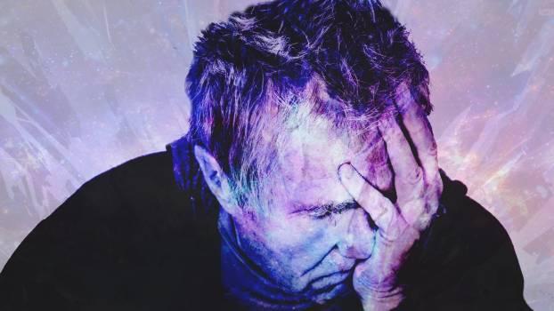 Close-up Portrait of a Man Free Photo
