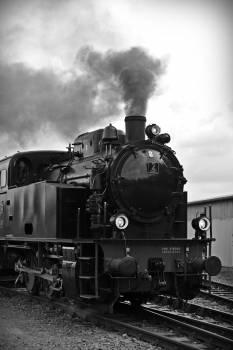 Train on Railroad Track #66851