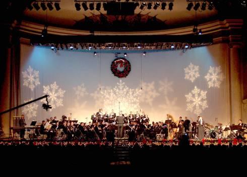 Auditorium band concert director Free Photo