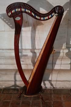 Choir dopamine honing concert harp foot harp #67219