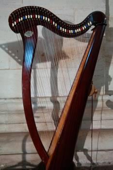 Choir dopamine honing concert harp harp head #67230