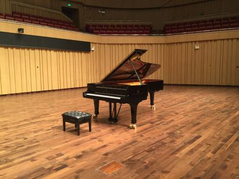 Changsha concert hall stage steinway piano #67252