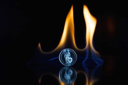 Art coin dark fire #67338