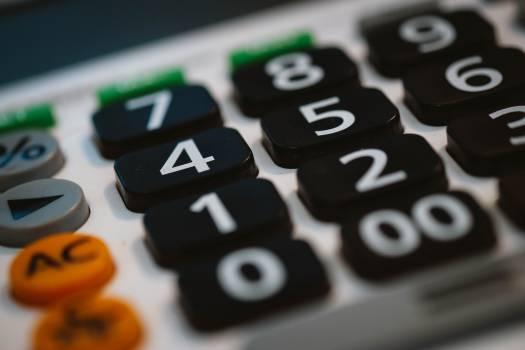 Accounting analysis budget business Free Photo
