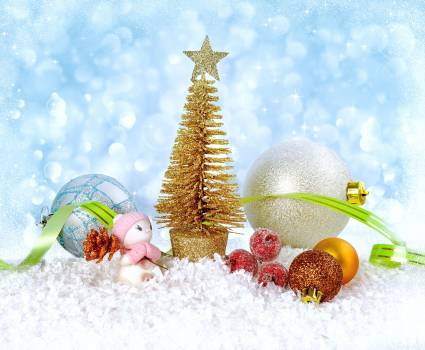 Background balls christmas fairytale Free Photo
