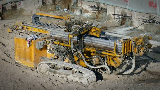 Auger competence construction construction equipment Free Photo
