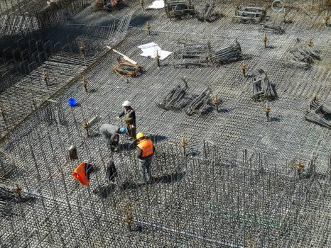 Builder building construction site construction workers #68176