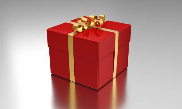 Box celebration gift package Free Photo