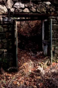 Architecture building remains door door way #68616