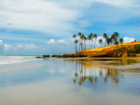 Beach brazil clouds hdr #68647