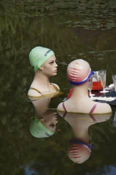 Art art object bathing mermaids botanical garden of ulm #68985