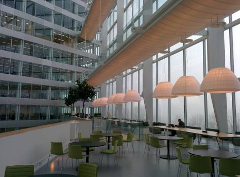 Building business meeting meeting space Free Photo