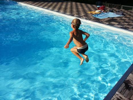 Child dip outdoor swimming pool pool Free Photo