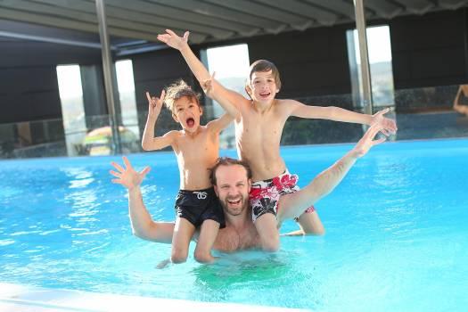 Activity children father fun Free Photo