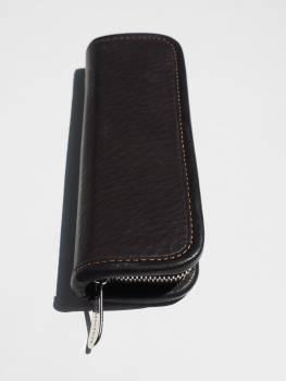 Case closed leather case leather writing case Free Photo