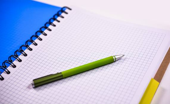 Blank notebook page paper #69858