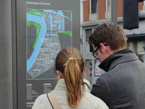 Antwerp city tour excursion hiking #70061