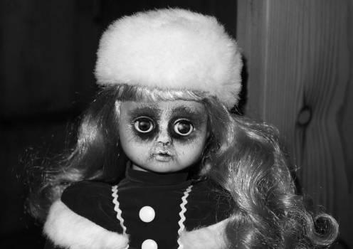 Creepy disfigured doll eyes #70256