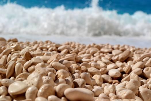 Beach blue greece holidays Free Photo
