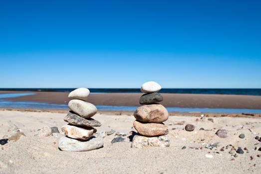 Balance baltic sea beach colorful #70646