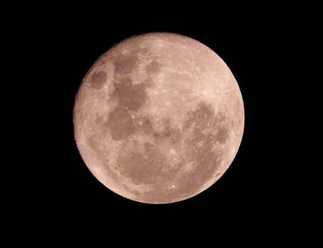 Astronomy moon moon crater sky Free Photo