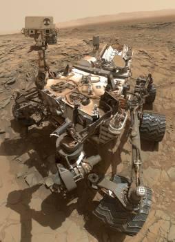 Big sky site cosmos curiosity drill Free Photo