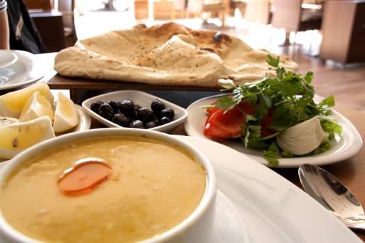 Alanya dinner meze soup #71002