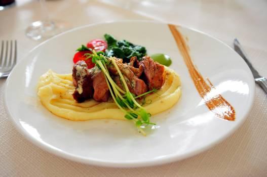 Cuisine dining dinner dinner plate Free Photo