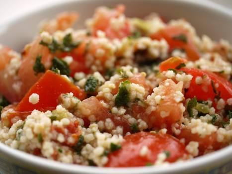 Broccoli couscous dinner eat #71101