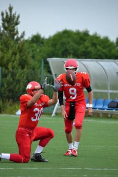 American football contact game cooperation determination Free Photo