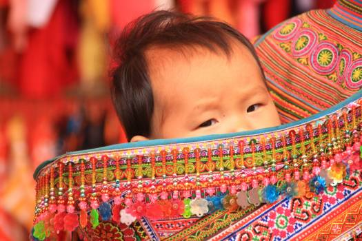 Carry bag child color colorful Free Photo
