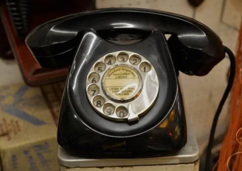Black business call communication Free Photo
