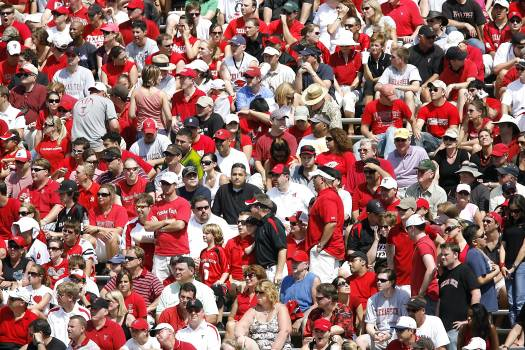 Competition crowd fans football game Free Photo