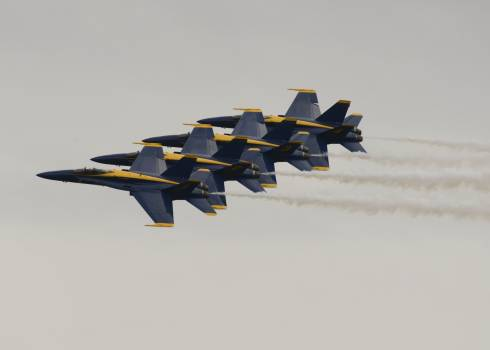 Aerobatics aircraft airplanes blue angels #72172