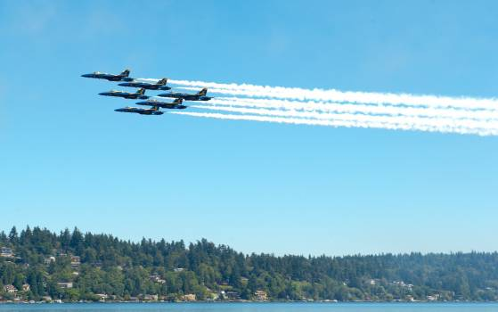 Aerobatics aircraft airplanes blue angels #72178