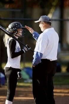 Bat batter coach coaching Free Photo