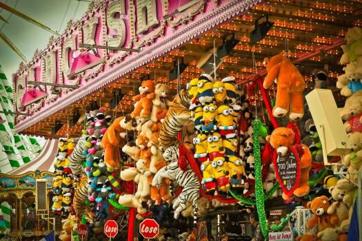 Children colorful entertainment fair #72419