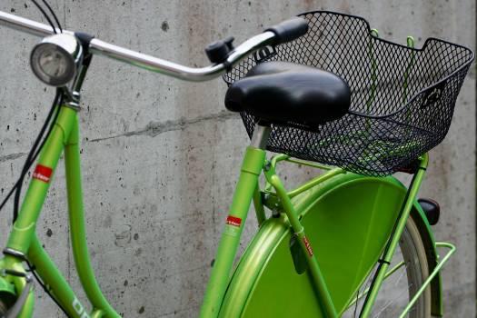 Bike environmentally friendly green mount #72445