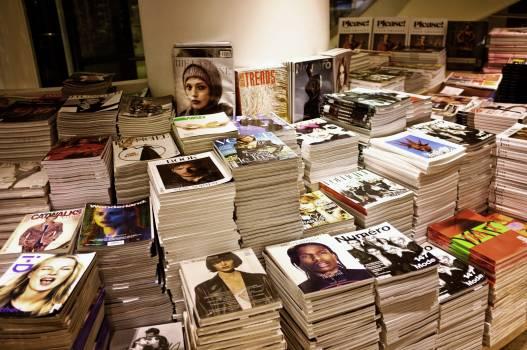 Blur book book stack books Free Photo