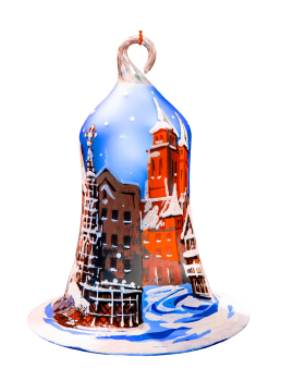 Bell christmas christmas gift christmas ornaments #72647