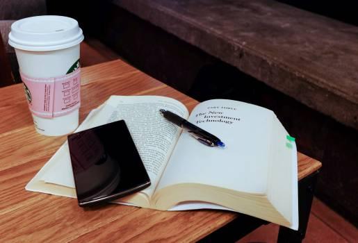 Book coffee desk learning #73024
