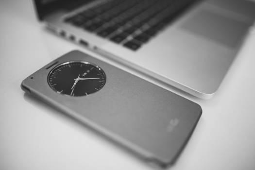 Black and white blur business clock Free Photo
