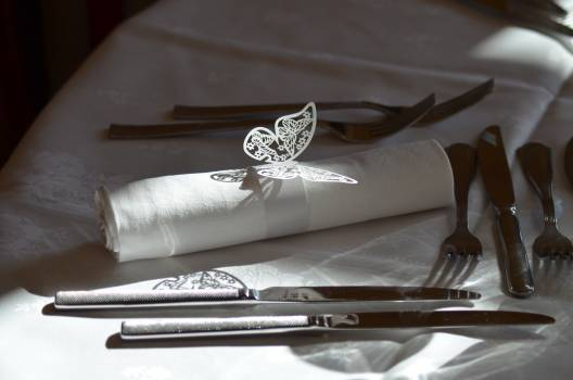 Butterfly catering cutlery decoration #73654