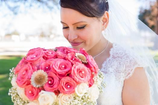 Adult bouquet bride celebration Free Photo