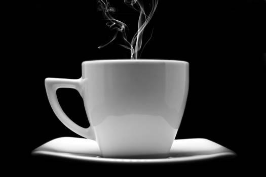 Art beverage black and white breakfast #74015