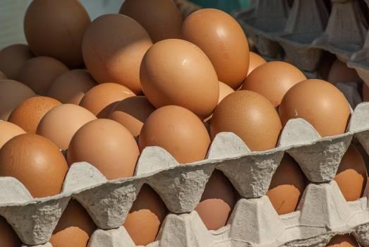 Eggs hens market Free Photo