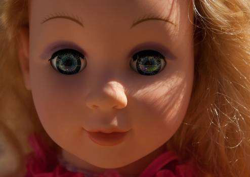Doll flea market girl toy Free Photo