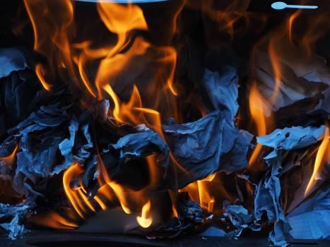 Ash burn combustion fire #74222